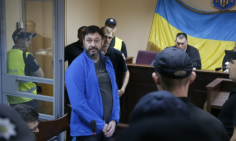 Ukrainian court frees Russian journalist after a year in jail