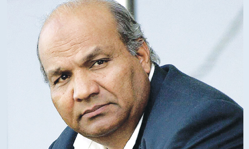 The panel includes former Test captain Intikhab Alam. — Dawn  File