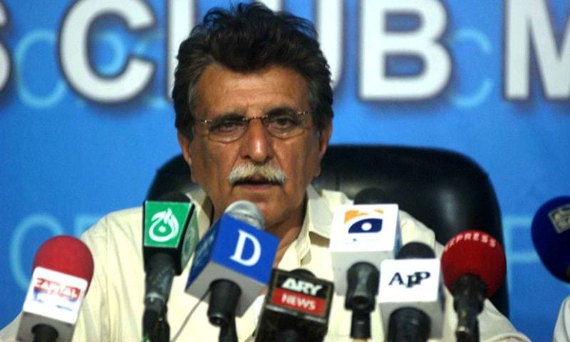 Prime Minister of Azad Jammu & Kashmir Raja Muhammad Farooq Haider Khan has said that Pakistan and AJK will not allow India to link the Kashmiri movement for freedom with terrorism. — APP/File