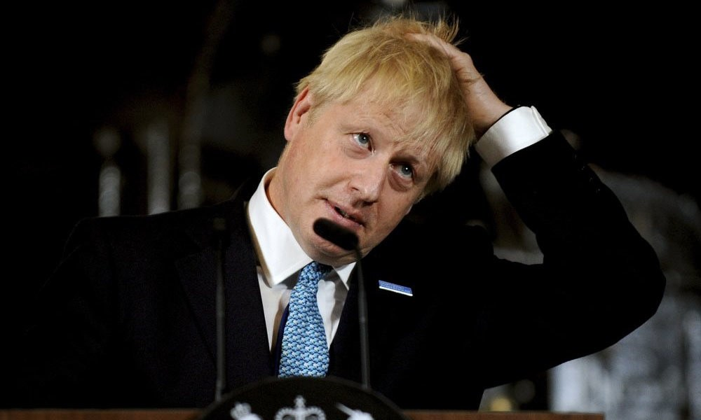 Britons set to protest against Johnson's Brexit move