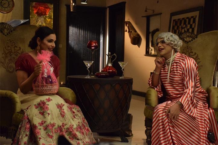 Meera in Begum Returns