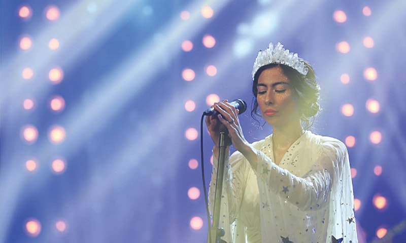 Leela by Meesha Shafi - Photos courtesy: Pepsi Battle of the Bands