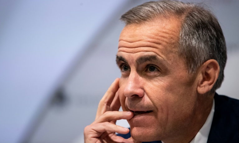 Bank of England governor Mark Carney has suggested that a virtual currency could one day replace the dollar as king of the foreign exchange market. — AFP