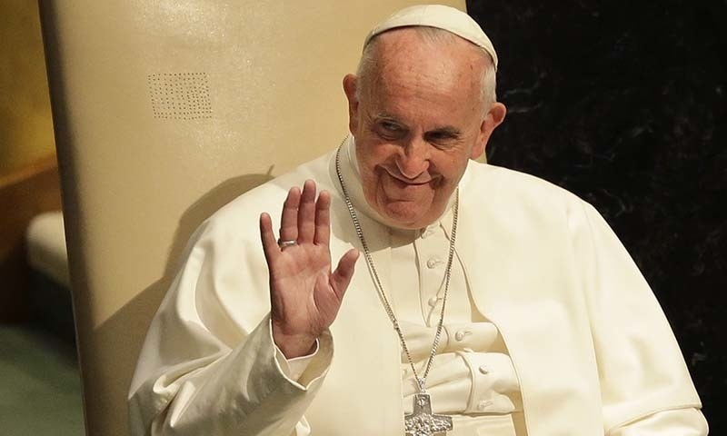 Pope Francis said on Sunday he was late to his weekly Angelus prayer because he had been stuck in a Vatican elevator and had to be freed by firemen. — AP/File