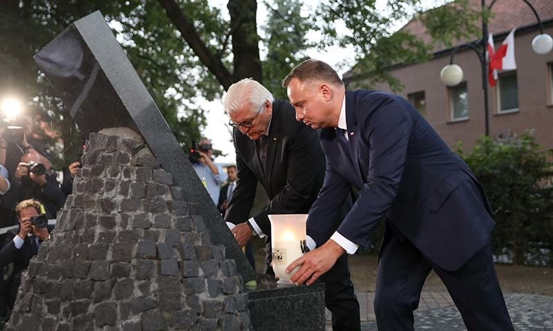 Polish leader opens 80th anniversary WWII event