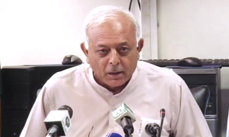 Federal Minis­ter for Aviation Ghulam Sarwar Khan has said that no decision has yet been taken to close Pakistan's airspace to India. — DawnNewsTV/File