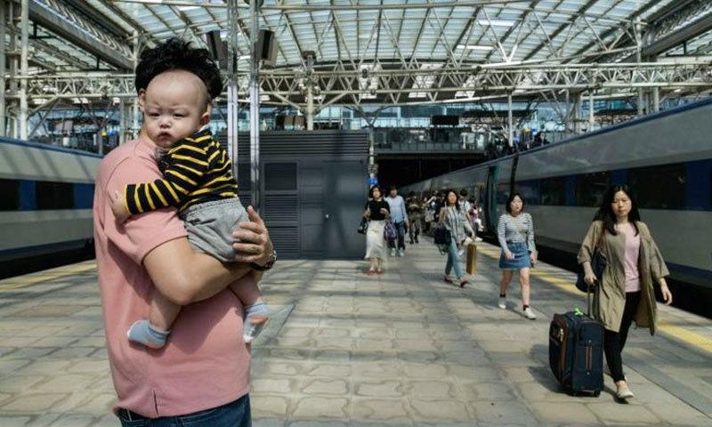 رپورٹس کے مطابق جنوبی کوریا میں خواتین، بچوں سے زیادہ ملازمتوں کو اہمیت دیتی ہیں—فوٹو: اے ایف پی