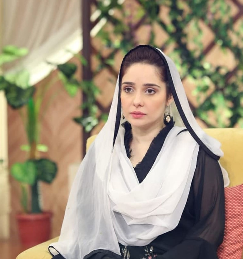 اداکارہ کے مطابق کہا جاتا انہیں لاہور کی ہوا لگ گئی — فوٹو: انسٹاگرام