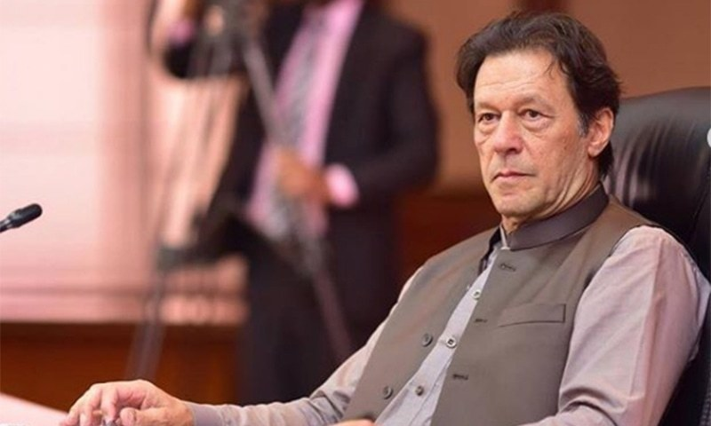 """Prime Minister Imran Khan on Thursday said the MTI Ordinance was to """"enable improved and modern management of public sector hospitals"""". — Photo courtesy Imran Khan Instagram/File"""