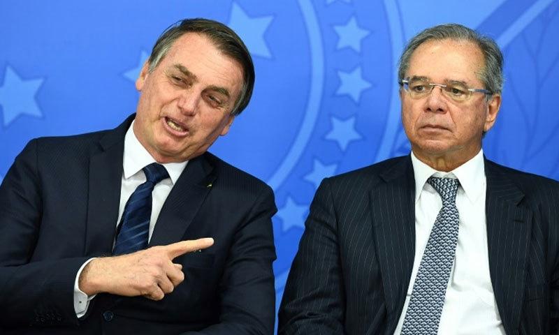 برازیلی صدر اور وزیر معیشت دونوں نے فرانسیسی صدر کی اہلیہ کے لیے نامناسب الفاظ کہے—فائل فوٹو: اے ایف پی