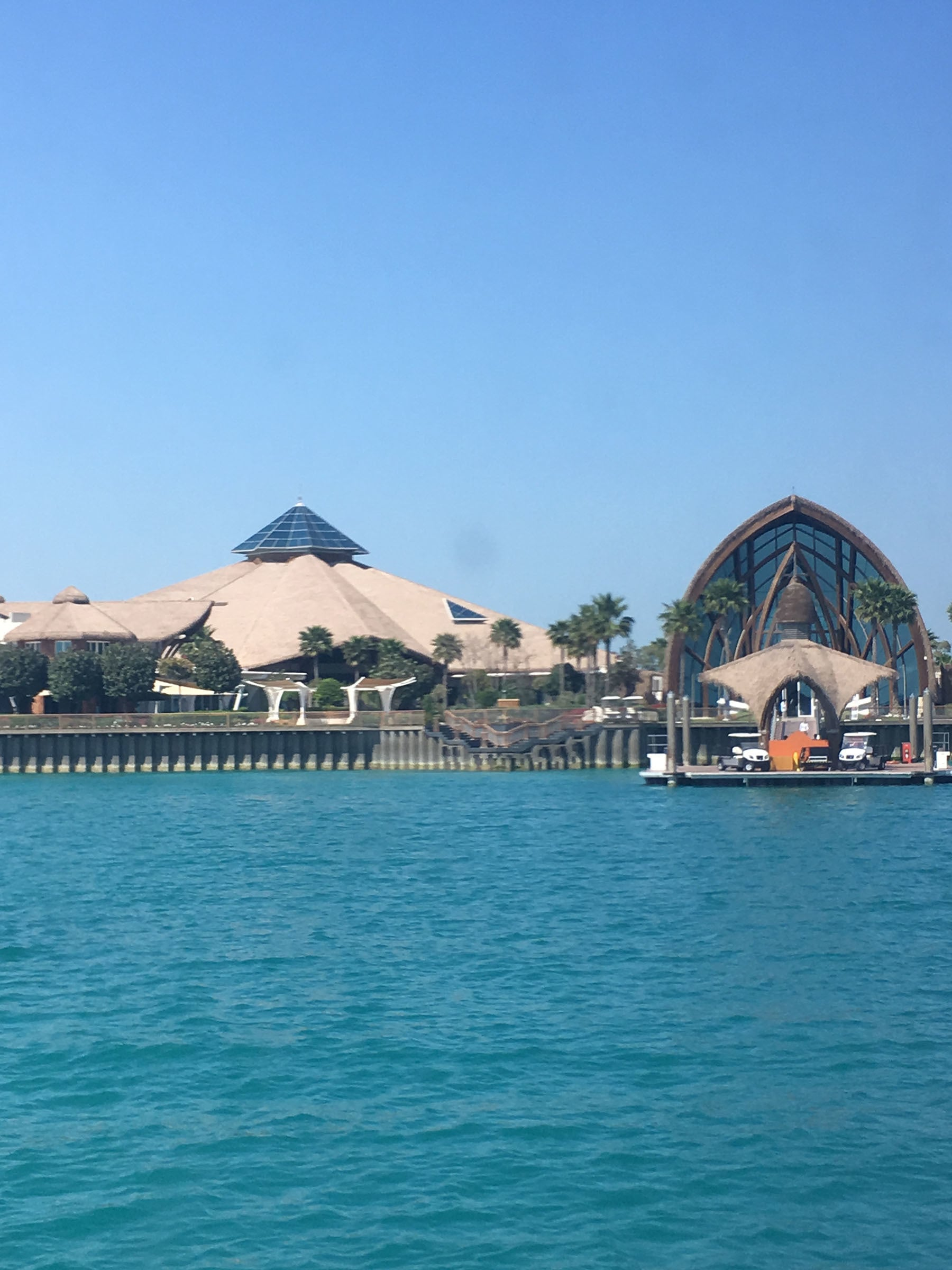 Qatar's luxury resort Banana Island is on an island off the coast of Doha.