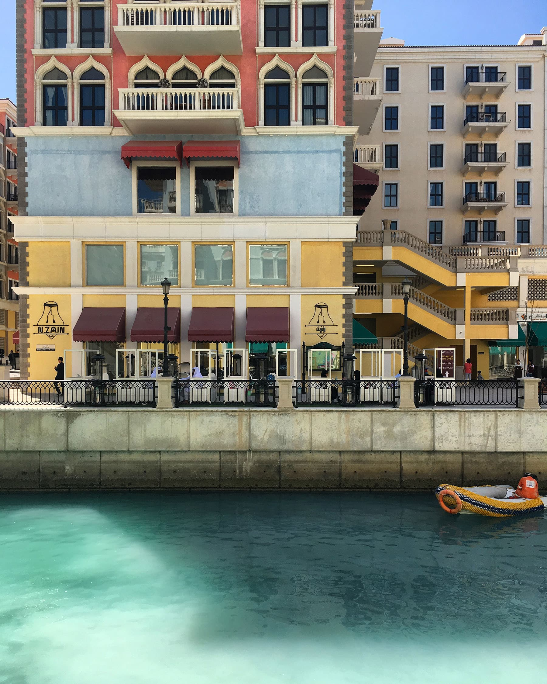The Pearl-Qatar is an artificial island spanning nearly 4sq-km, and comprises residences, restaurants, retail and other commercial attractions.