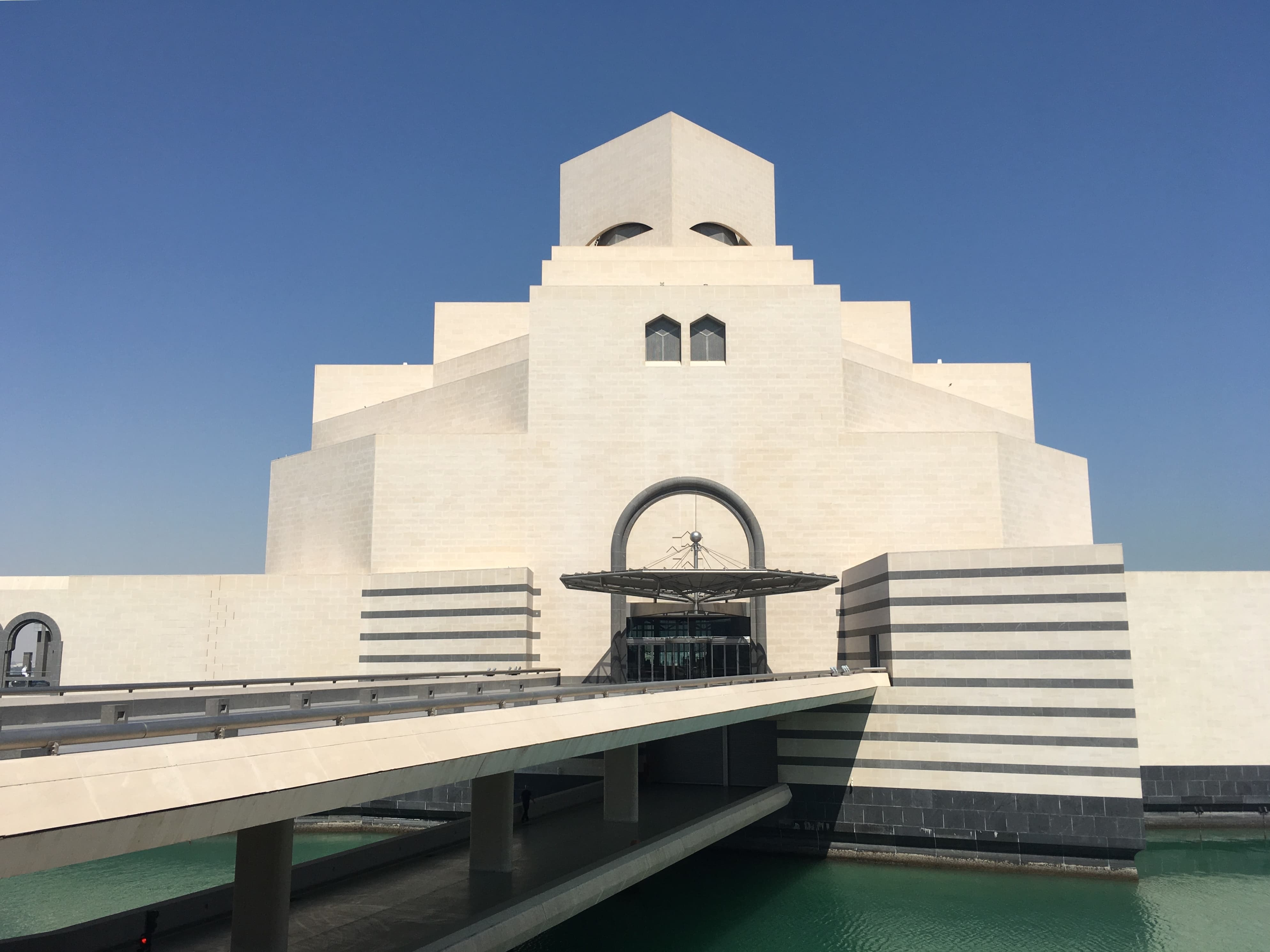 The Museum of Islamic Art, designed by Chinese-American architect I.M. Pei.
