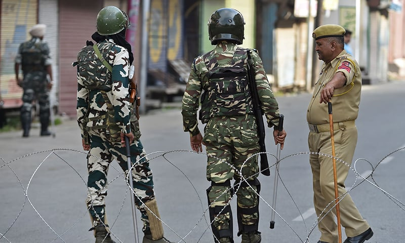 India throttling media in occupied Kashmir, says report