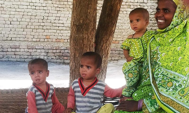 16 برس کی لڑکی جس کی 2 سے 3 سال قبل شادی ہوئی تھی، اور آج یہ 4 بچوں کی والدہ ہیں— شیما صدیقی