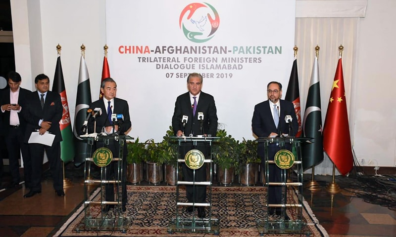 Trilateral dialogue: Pakistan, China, Afghanistan agree on 'enhancing counterterrorism cooperation'