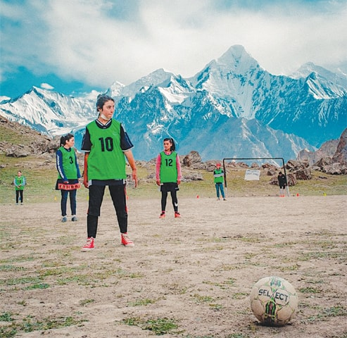 Most of the players belong to Shimshal in Hunza region of Gilgit-Baltistan, which is home to some 2,000 residents.—Al Shams Women FC