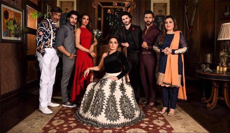 The cast of Baaji