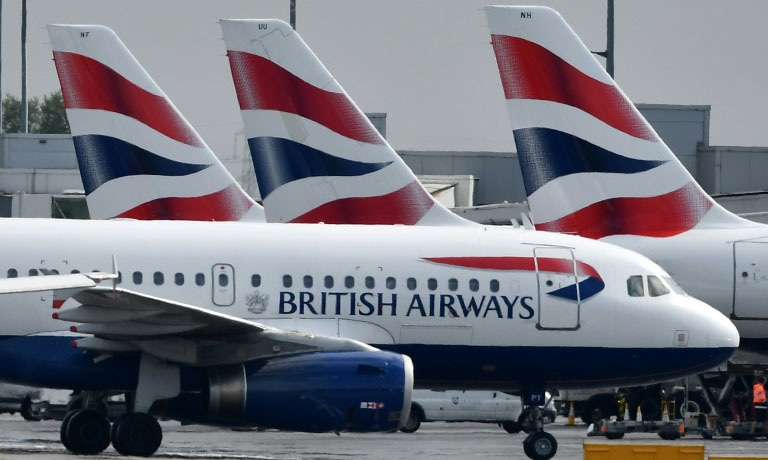 British Airways and its 4,300 pilots have been locked in a nine-month pay dispute that could disrupt the travel plans of nearly 300,000 people. — AFP