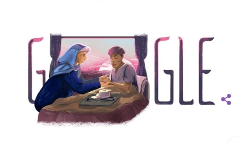گوگل اپنے ہوم پیچ پر عموماً مواقعوں  یا  نامور شخصیات کو خراجِ تحسین پیش کرنے کے لیے اپنا لوگوں تبدیل کرلیتی ہے—تصویر:گوگل
