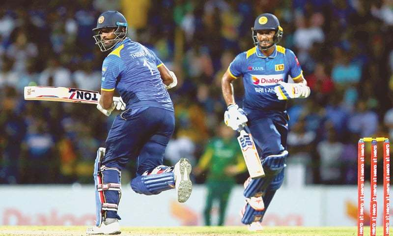 The Sri Lankan side is set to visit Pakistan to play three ODIs and three T20i matches. — Reuters/File