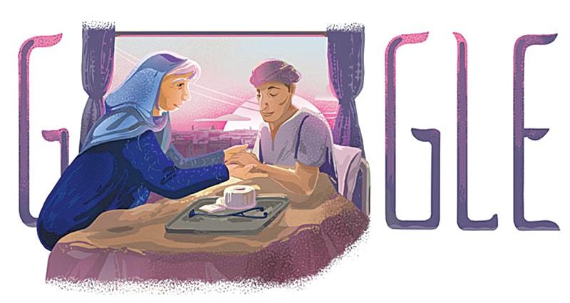 THE Google doodle.