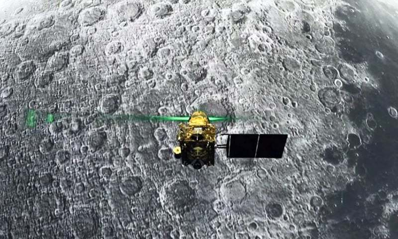 India's moon mission locates landing craft; no communication yet