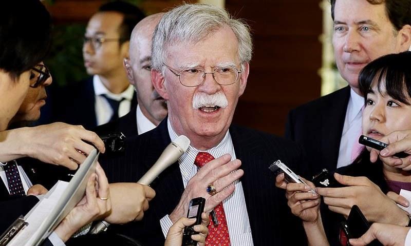 جان بولٹن نے کہا کہ انہیں عہدے سے ہٹایا نہیں گیا ہے بلکہ وہ خود مستعفی ہونا چاہتے تھے — فائل فوٹو/ اے پی