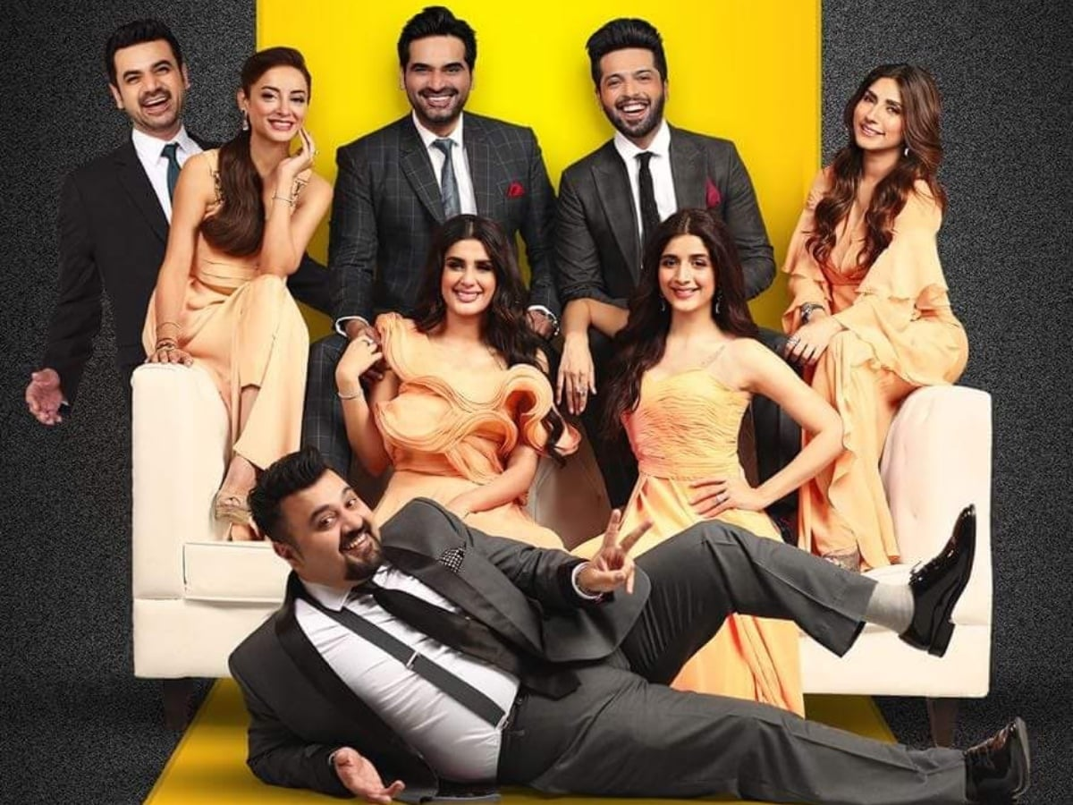 A JPNA 2 poster featuring the all-star ensemble cast