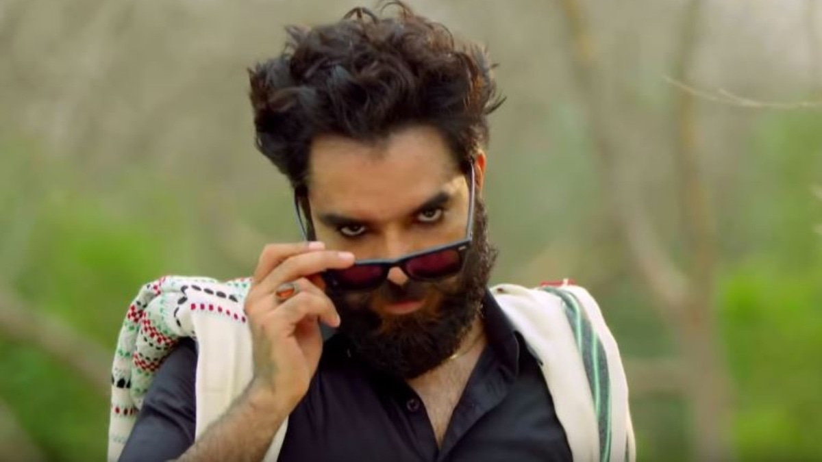 Hussain played the villain in Baandi, reinventing himself yet again from a comic hero