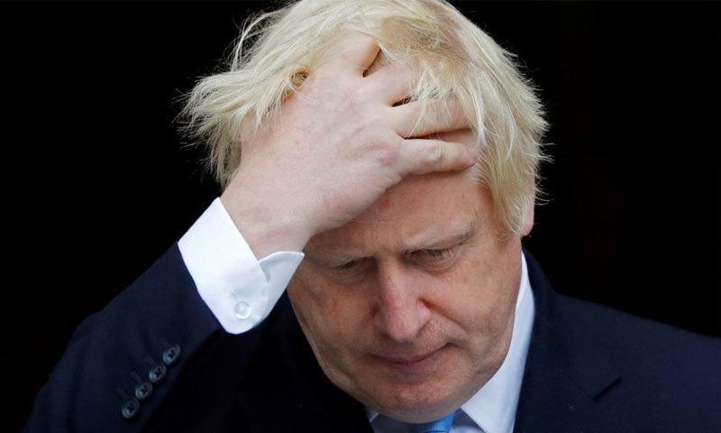 برطانوی وزیراعظم کے لیے یہ فیصلہ بہت بڑا دھچکا ہے — فائل فوٹو/ رائٹرز