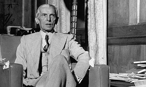 The 71st death anniversary of Father of the Nation Quaid-i-Azam Mohammad Ali Jinnah was observed on Wednesday. — Photo courtesy of LIFE/File