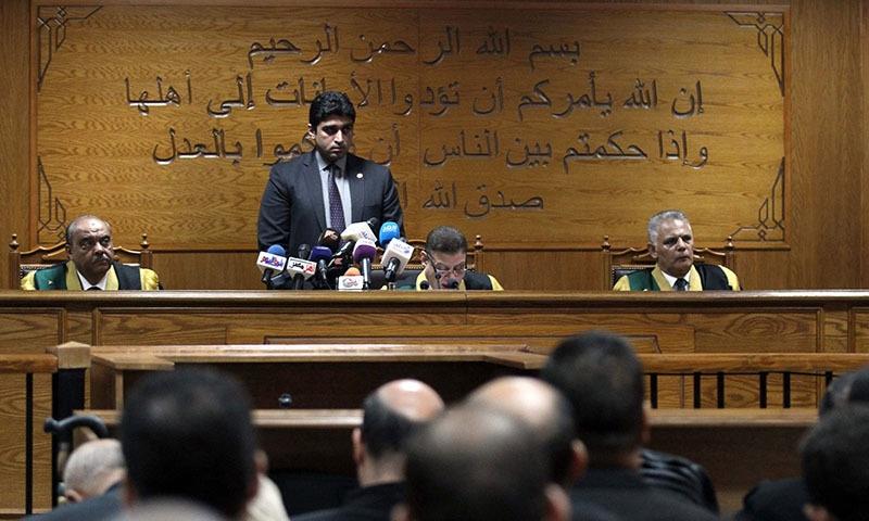 Brotherhood chief, deputy get life in Egypt