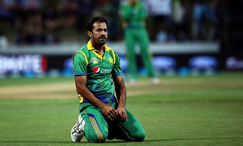 Wahab Riaz says he will focus on 50-over and 20-over cricket, continue to assess his fitness for the longer version of the game. — AFP/File