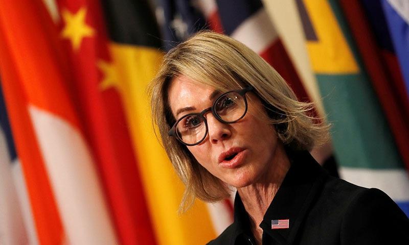 US envoy to UN vows 'strong leadership'