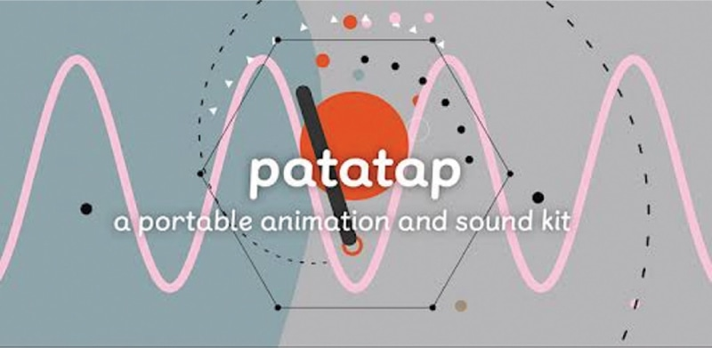 Make Music with your Keyboard at Patatap.com