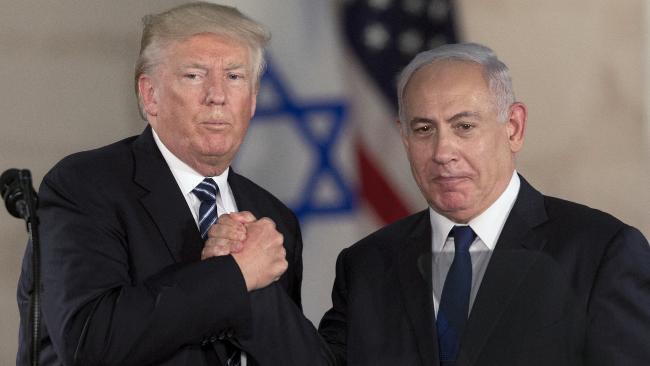 US President Trump and Israeli Prime Minister Benjamin Netanyahu. — AP/File