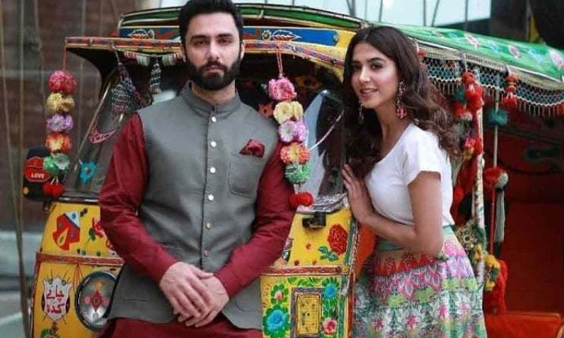 فلم میں احمد علی اکبر اور منشا پاشا نے مرکزی کردار نبھائے — فوٹو/ اسکرین شاٹ