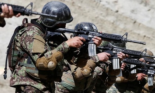 Afghan security forces, backed by US air strikes, killed two of the Taliban movement's 'shadow provincial governors' on Sunday, as fighting stepped up in the wake of collapse of the talks aimed at ending war in Afghanistan, officials said. — Reuters/File