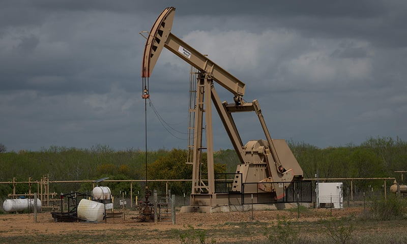 Oil prices surged on Monday, with Brent crude posting its biggest intra-day percentage gain since the start of the Gulf War in 1991, after an attack on Saudi Arabian oil facilities on Saturday shut in the equivalent of 5 per cent of global supply. — AFP