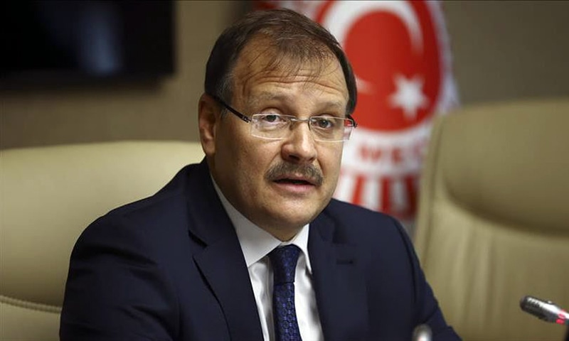 Head of Turkish parliament's Human Rights Commission Hakan Cavusoglu. — AA/File