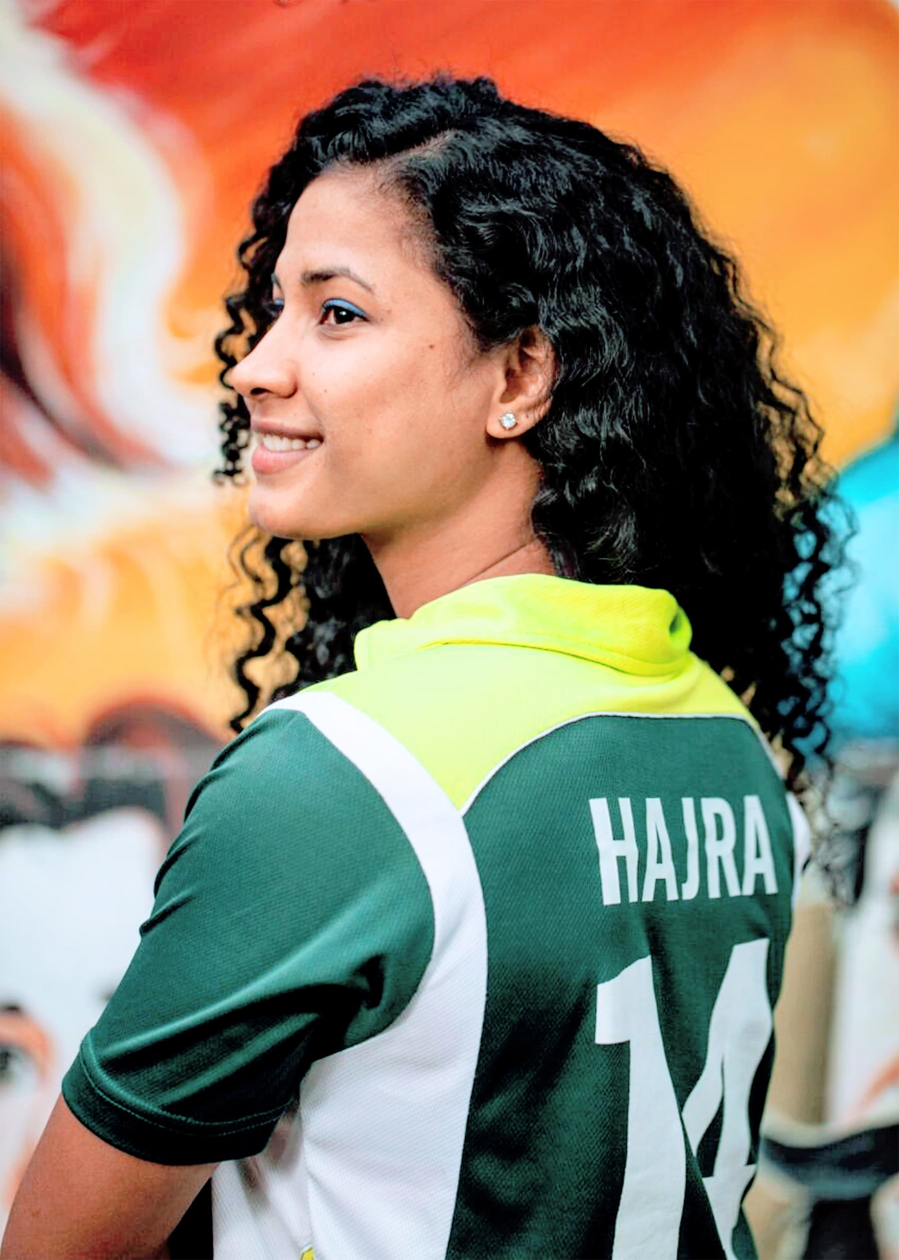 Pakistan women's football team star Hajra Khan. — British Asian Trust