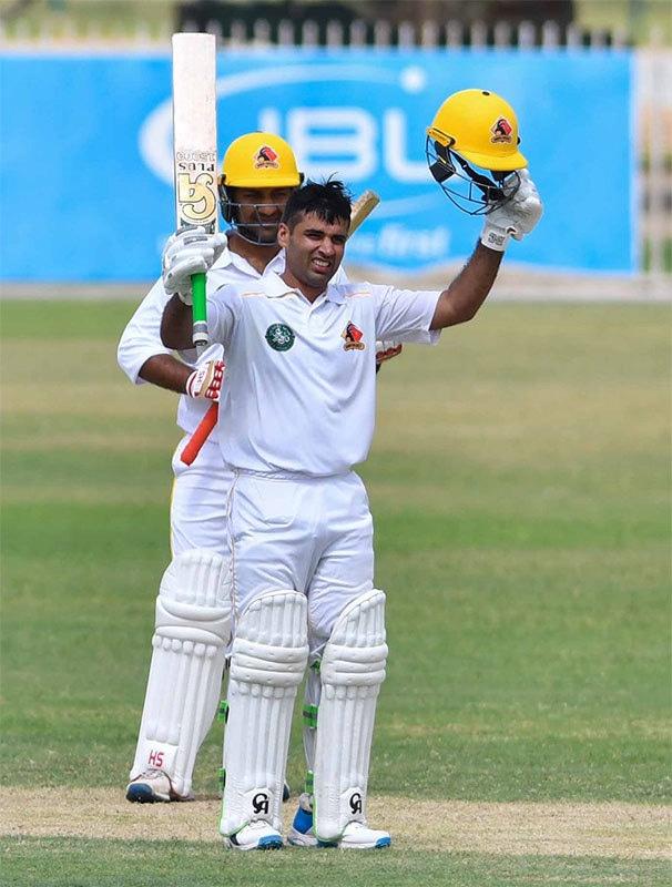 عابد علی نے ناقابل شکست 149 رنز کی اننگز کھیلی— فوٹو بشکریہ پی سی بی