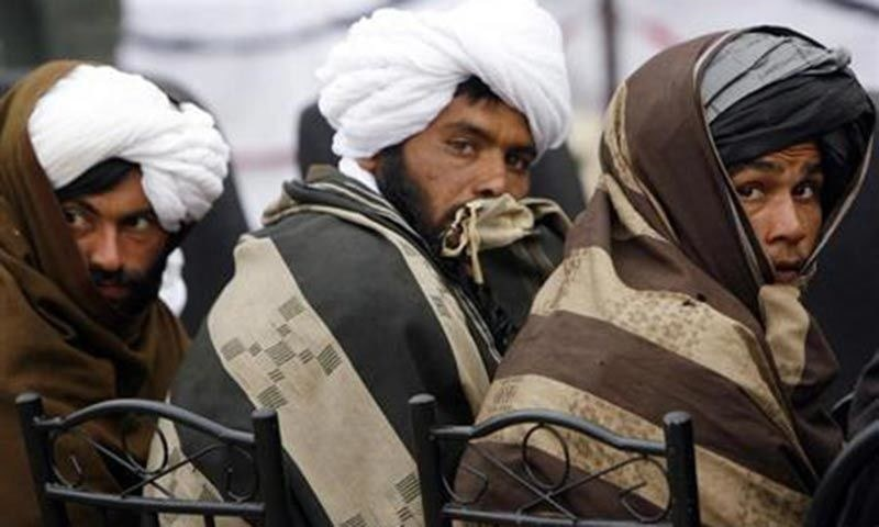 Taliban team in Tehran