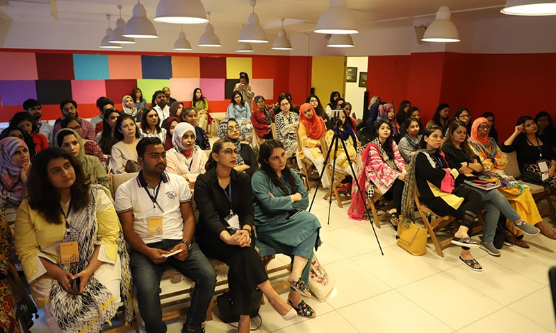 The event also included speaker sessions and tailored workshops for women.