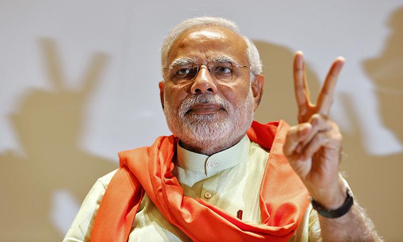 Modi's flight to France uses Pakistan airspace