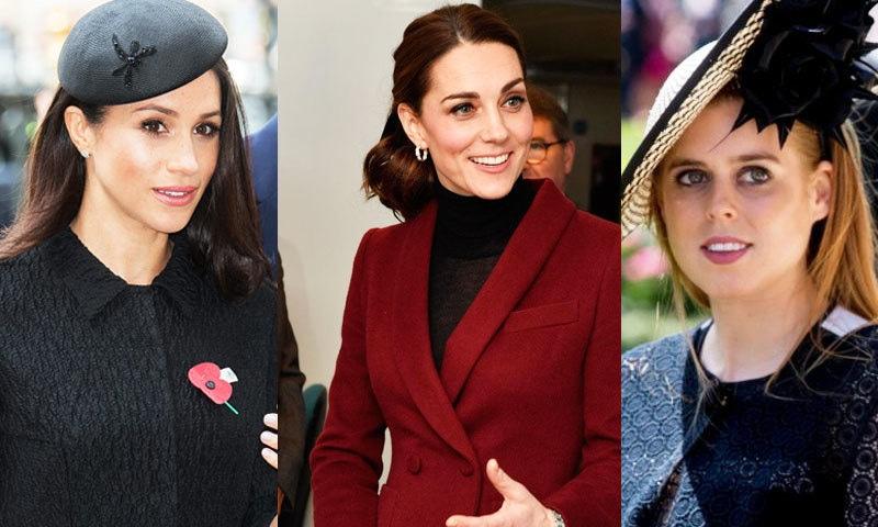 تینوں شہزادیوں کے ہاں اگلے سال بچوں کی پیدائش متوقع ہے—فوٹو: سلیبرٹی انسائڈر/ویمن اینڈ ہوم/ مین ریپلر