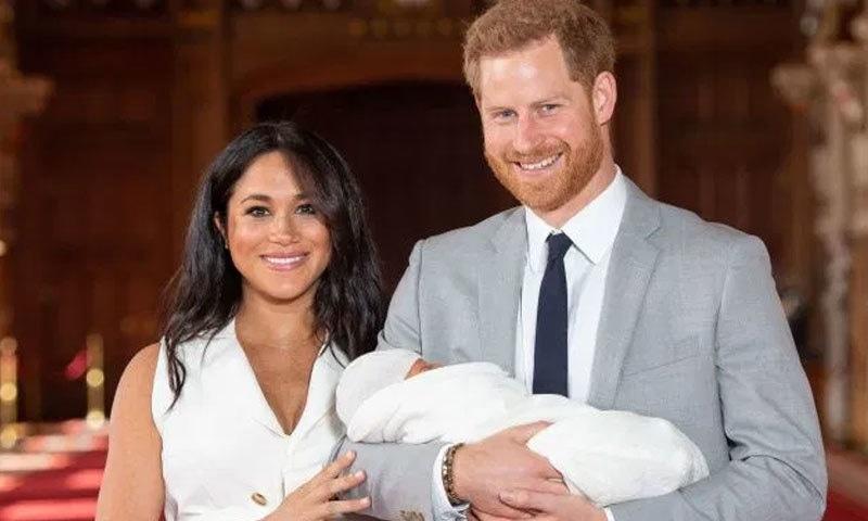 میگھن مارکل کے ہاں مئی 2019 میں پہلے بچے کی پیدائش ہوئی تھی—فوٹو: اے ایف پی