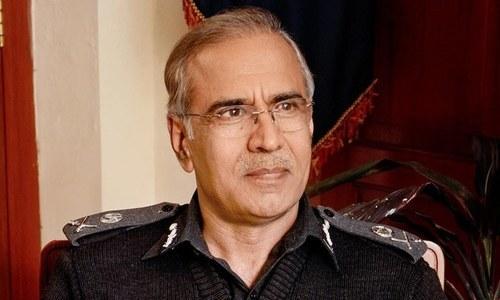 Federal Tax Ombudsman Mushtaq Ahmed Sukhera.— Photo courtesy of Punjab police website