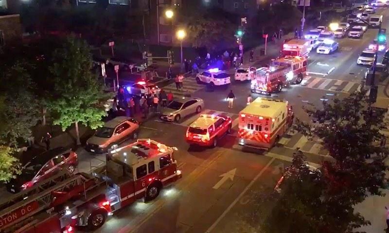 امریکا میں گن وائلنس یا فائرنگ کرنے کے واقعات کی تعداد تشویشناک حد تک زیادہ ہے—تصویر: رائٹرز